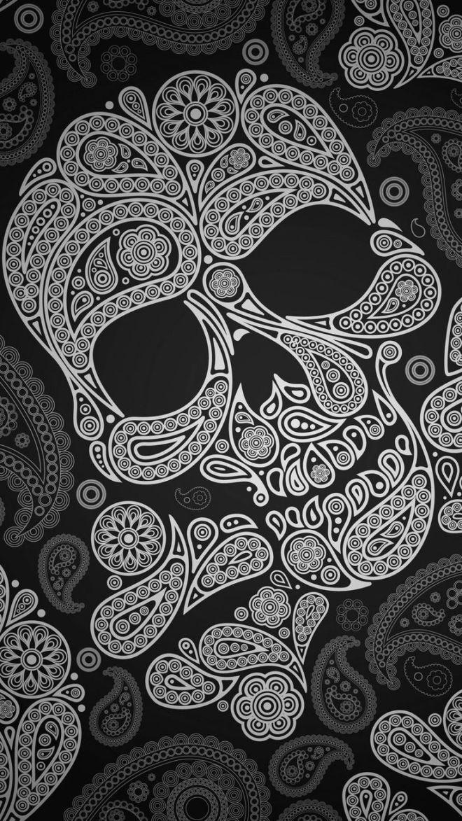 wallpaper-caveira