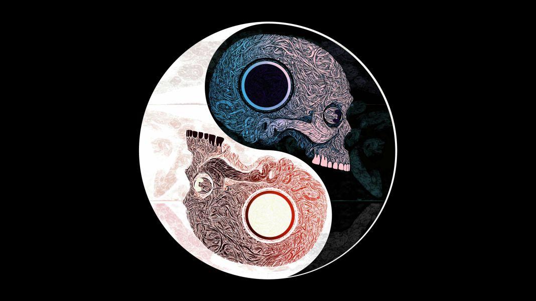 ying-yang-skull-wallpaper