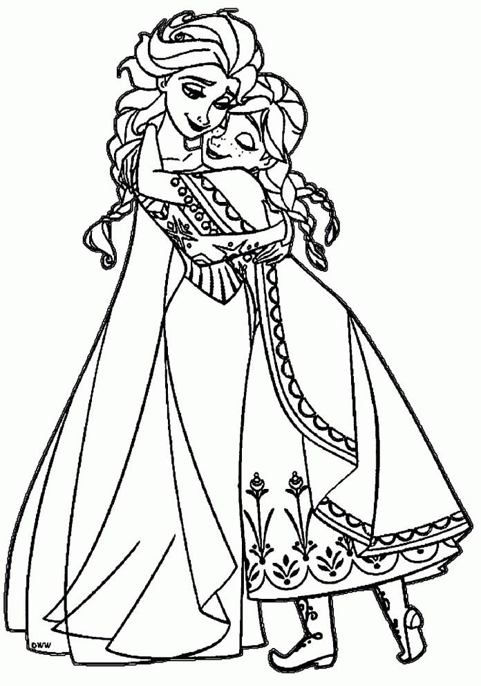 Desenhos para Colorir: Frozen [Imprimir]