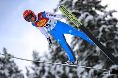 Sportfotografie Nordische Kombination Skispringen Vinzenz Geiger Ramsau - emotioninpictures / Mario Bühner