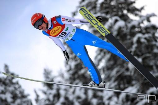 Sportfotografie Nordische Kombination Skispringen Vinzenz Geiger Ramsau - emotioninpictures / Mario Bühner / Fotograf aus Graz