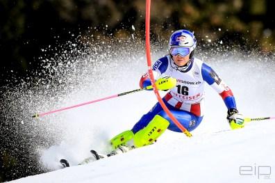 Sportfotografie Slalom Ski Weltcup Lindsey Vonn Lenzerheide - emotioninpictures / Mario Bühner