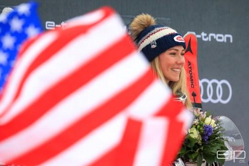 Sportfotografie Slalom Ski Weltcup Mikaela Shiffrin Maribor - emotioninpictures / Mario Bühner / Fotograf aus Graz