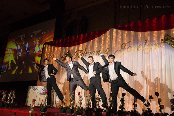 wedding-reception-kuala-lumpur-group-dance-performance