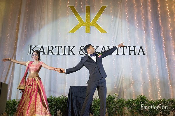 indian-wedding-reception-first-dance-grand-dorsett-kuala-lumpur
