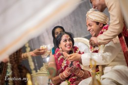 Ceylonese Wedding at Glasshouse Seputeh: Vinesh + Ann-Marie