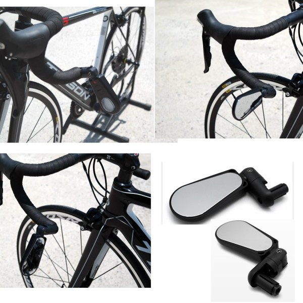 Adjustable 360 Rotatable Handlebar Rearview Mirror