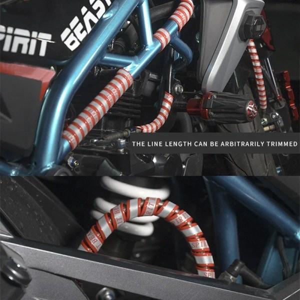 Spirit Beast Motorbike Reflective Strip Motocross Warning Strip