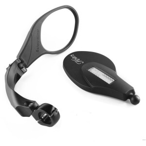 Ebike Handiness Firmness Adjustable Collapsible Stainless Steel Mirror