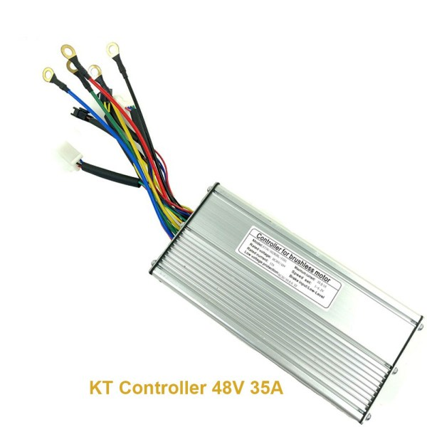12 Mosfet 48V 35A KT Controller Squarewave for 48V 1000W Electric Bicycle