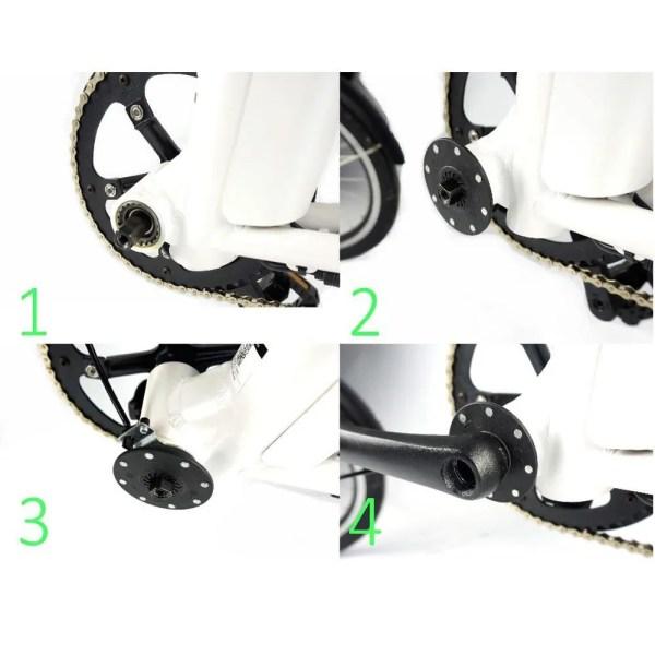 Electric Bike PAS Pedal Assist Sensor BZ-4(8) 8 Magnets Pedal Assist Sensor