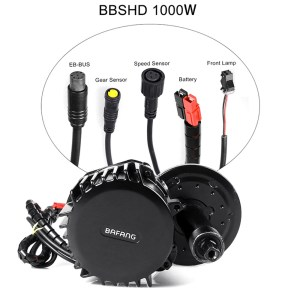 Bafang BBSHD 1000W BBS02B 750W 500W BBS01B 350W New Version with Light and Gear Sensor