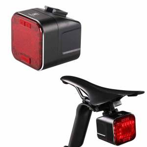 Lamp LED Bluetooth Speaker Bike Light 2200mAH USB Rechargeable Bicycle Rear Light