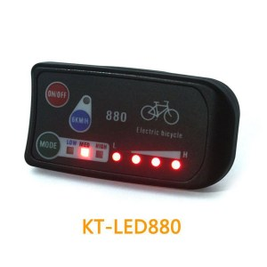 Ebike Display KT LED880 Display36V 48V Electric Bike Intelligent Control Panel Display