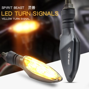 Motorcycle Signal Light Modified Light Waterproof Turn Signal