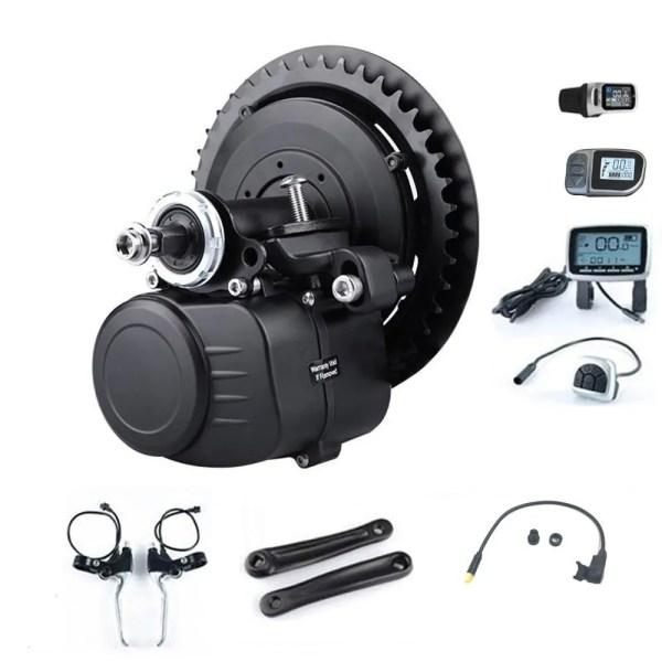 TongSheng TSDZ 2 36V 48V 250W 350W 500W Torque Sensor Mid Drive Crank Motor