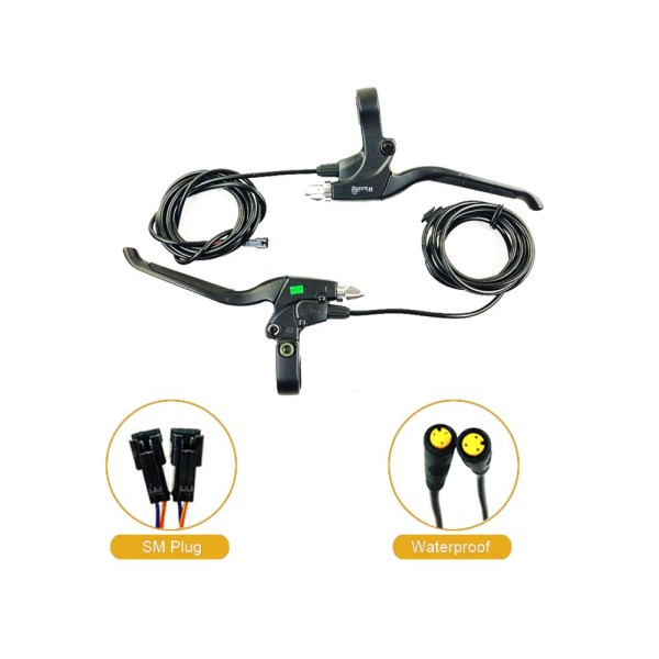 Electric Bike 115PDD Brake Lever Cut Off Power E-scooter Bicycle MTB Road E-bike Brake Accessories