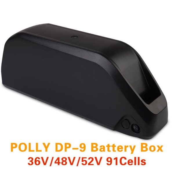 Ebike Polly DP-9 Down Tube 36V 48V 52V Lithium Battery Case