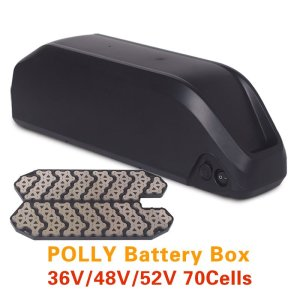 Ebike 36V 48V 52V Lithium Battery Case Electric Bicycle Polly Battery Box