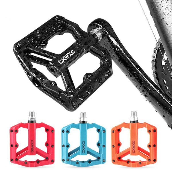 Ultralight  Mountain Bike Flat Pedals 3 Sealed Bearings Cycling Pedals