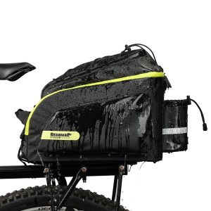 Bicycle  Saddle Rack Trunk Bags Waterproof 17L Cycling Luggage Carrier Camera Handbag