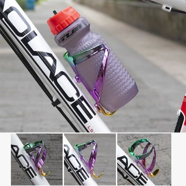 GUB Ultralight Bicycle Water Bottle Holder Colorful Bike Bottle Cage