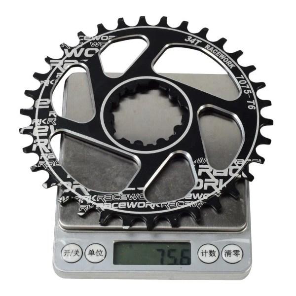 MTB Crankset 170mm Crank 1X System Chainwheel 104 BCD Narrow Wide Single Chainring