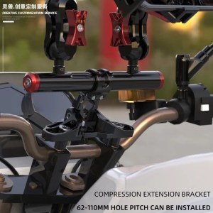 Motorcycle Universal Handlebar Expansion Bracket
