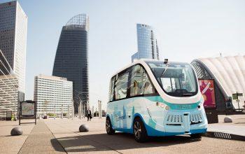 Autonomní autobus společnosti Navya