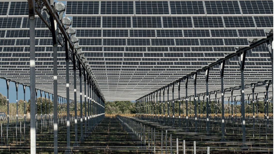 Fotovoltaická elektrárna (foto SunR)