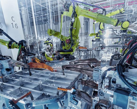 Skládání bateriových souborů pro vozy Audi