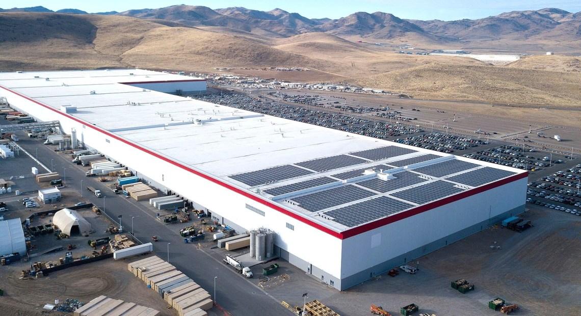 Gigafactory v americké Nevadě