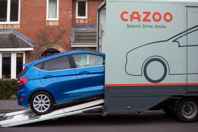 """Britský start-up Cazoo, který je často označován za """"Amazon na trhu s ojetými auty"""" (foto Cazoo)"""