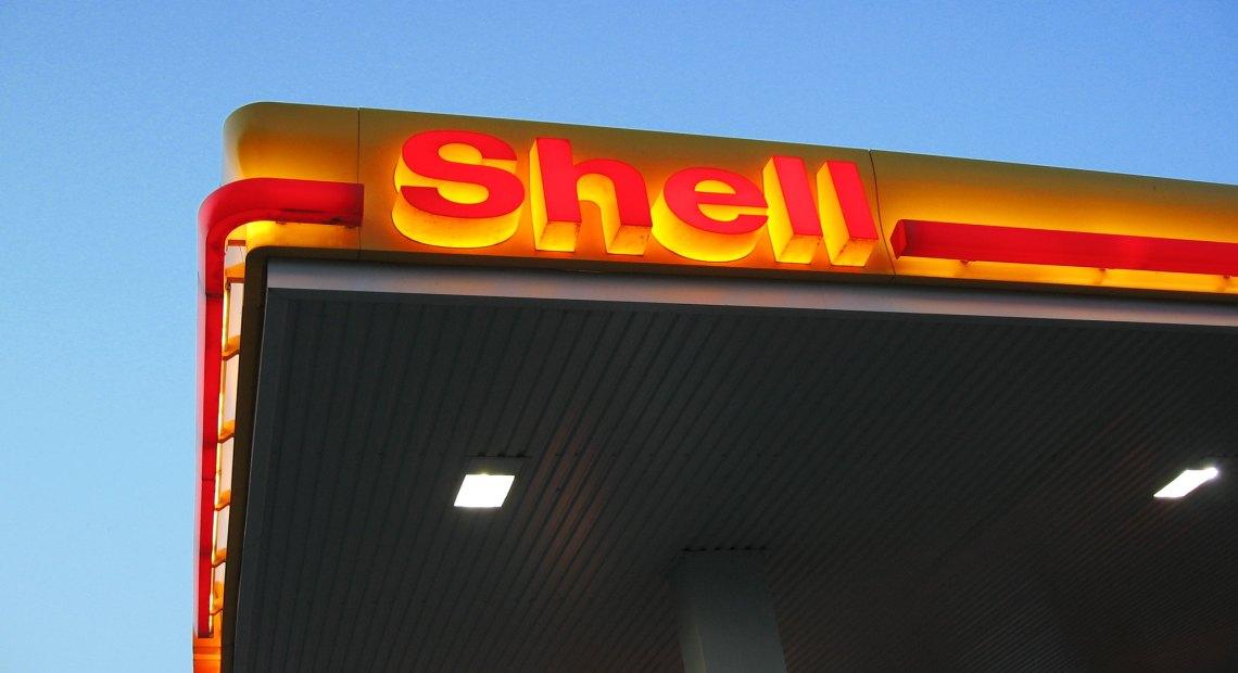 Čerpací stanice společnosti Shell (foto David Nagy)