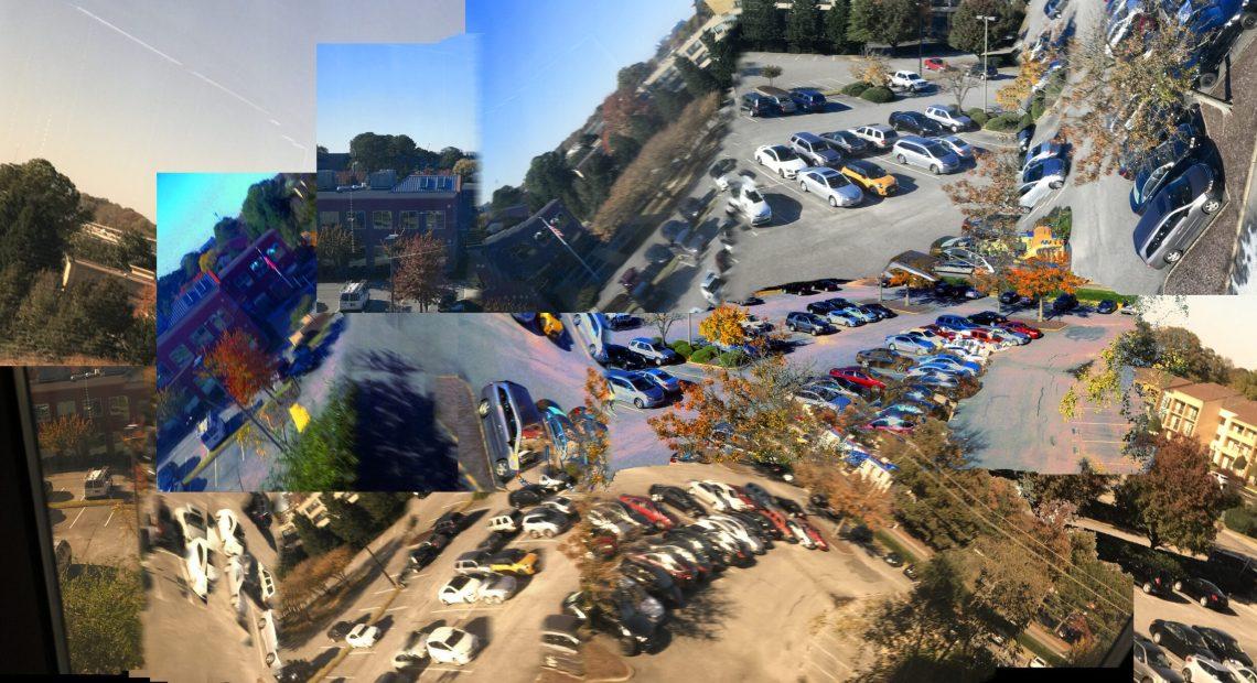 Parkování (foto Bill Smith)