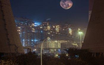 Uhelná elektrárna v Indii (foto Vikramdeep Sidhu)