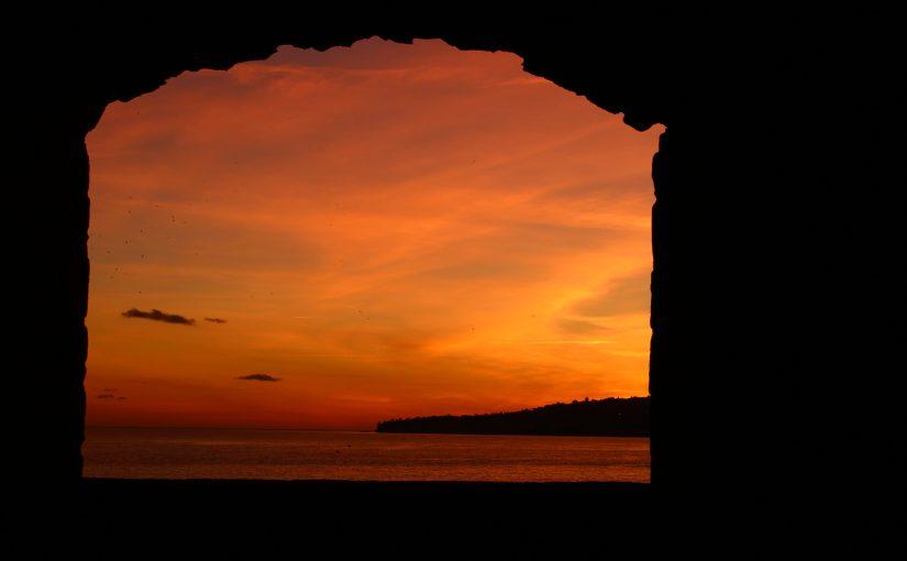 Il tramonto che ci manca e la libertà che tornerà, se rimaniamo uniti