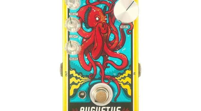 Dusky Electronics announces the Augustus, a new take on the old-school octave fuzz