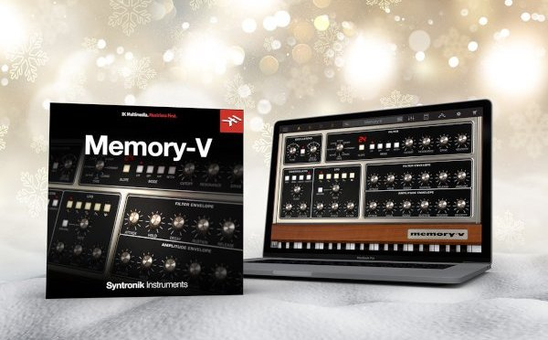 Free Syntronik Memory-V for IK Newsletter Subscribers