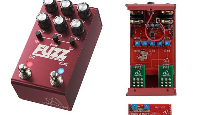 Jackson Audio's FUZZ lets you swap out parts of the circuit for different sounds