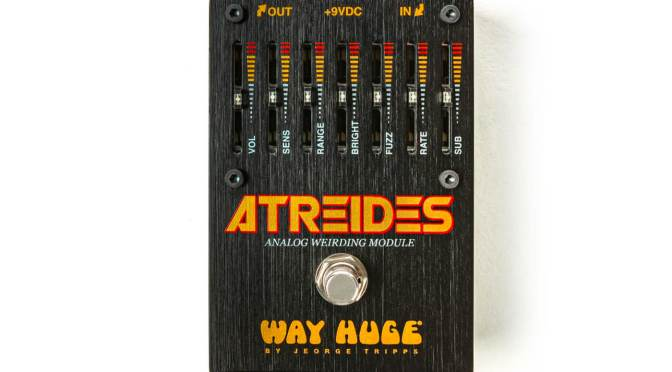 """Way Huge's Atreides is an analogue """"Weirding Module"""" with fuzzy synths galore"""
