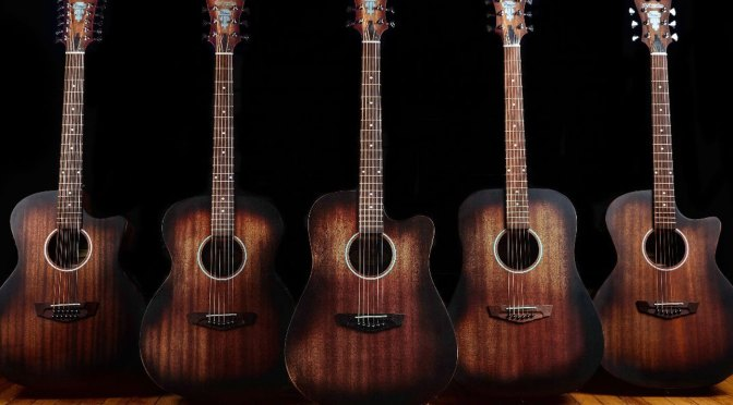 NAMM 2021: D'Angelico's Premier Series LS Acoustics now come in Aged Mahogany