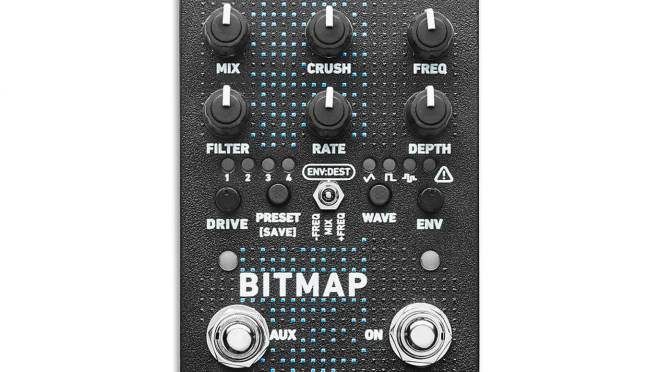 NAMM 2021: Red Panda announces the Bitmap 2, a bitcrusher for your pedalboard