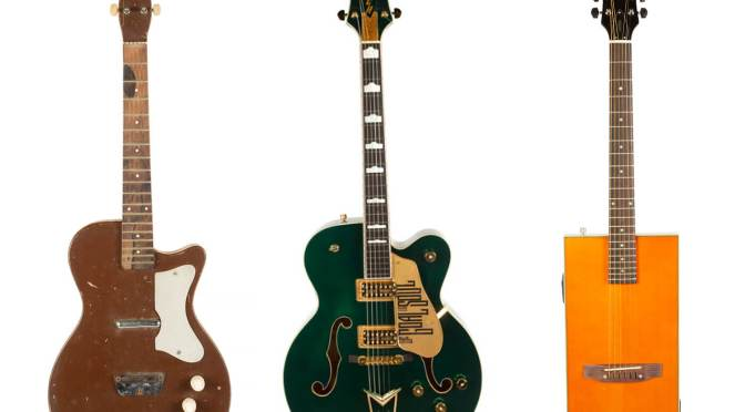 Guitars owned by George Harrison, Tom Petty, and more at Gretsch Family Archives auction