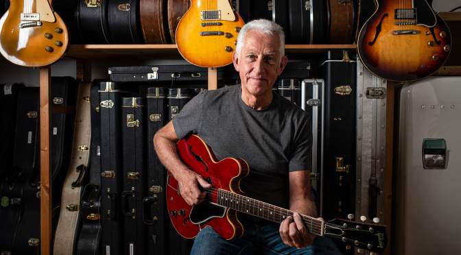The Collection: Bob from Rockbeare Guitars and his 20th-century toys