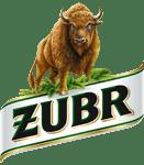 Grafika przedstawia logo Żubr
