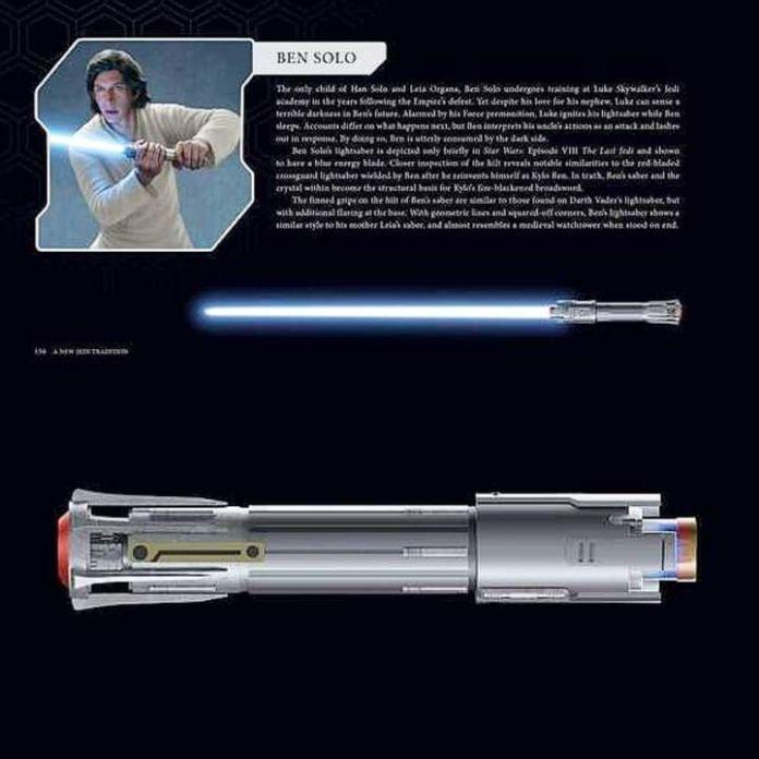 Ben Solo spada laser