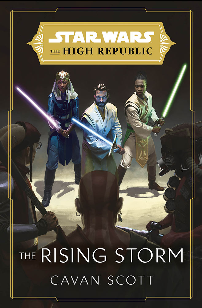 The High Republic The Rising Storm cover