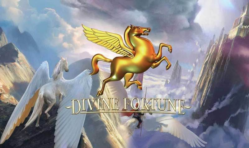 divine fortune jackpot slot game