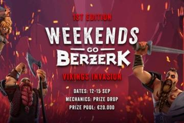 weekends go berzerk vikings invasion